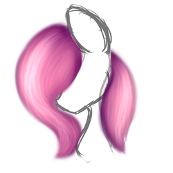 Fluttershy hair Practice by 0Flare0
