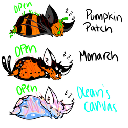 BAT ADOPTS (3/3 OPEN) - PAYPAL ONLY by Otahru