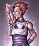 Hisoka by Vederation