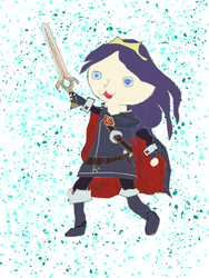 Chibi Lucina by redghost187
