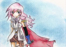 Final Fantasy XIII - Lightning by Endless-Happiness