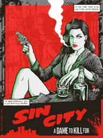 Sin City - Femme Fatale by christiano-bill