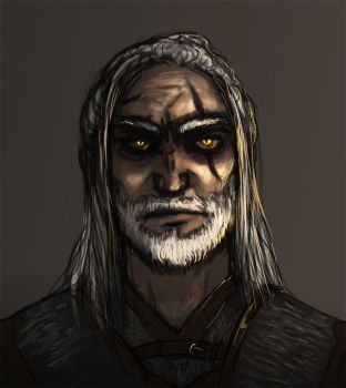 Geralt of Rivia by Mustang-sauvage