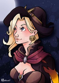 MercyWitch by Natachouille