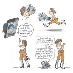 Portal doodles by SnuffyMcSnuff