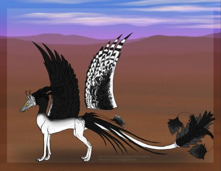 #A023 The Harpy by ReapersSpeciesHub
