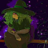 Art Trade: Witch by Retro-tv
