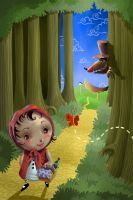 Little Red Riding Hood by Ancorgil