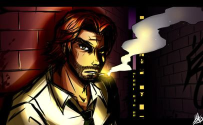 The Wolf Among Us Bigby by Smudgeandfrank