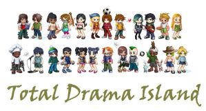 Total Drama Island Crew by cococheese