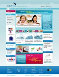 Brolly Sheets Webdesign by cendhika
