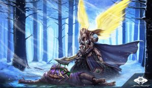 ...Commission: High Elf Priestess... by ShadowPriest