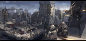 Rooftop Assault by ProgV