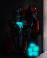 AT: Cliff and Arcee by Miklche04