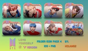 BTS Love Yourself  'Her' Folder Icon Pack 4 by nslam92