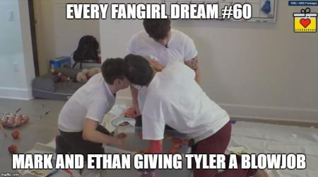 Markiplier And Ethan Blowing Tyler by Prince-riley