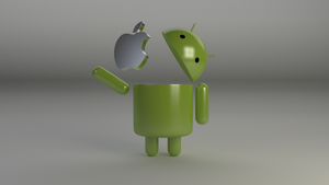 Android Vs Apple Round 1 by SuperTheo32