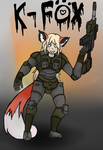 KFox - Kfox contest entry :D by ChromeFlames