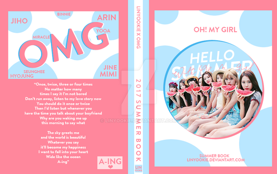 BOOK COVER: 2017 SUMMER BOOK WITH OH MY GIRL by LinYookie