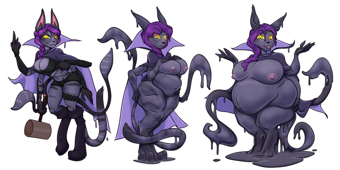 Blink's Slime-Coated Cloak by RiddleAugust