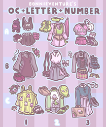 OC + Letter + Number by aychh