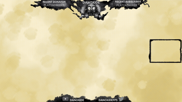 Gas Mask Twitch Overlay Commission by Platyadmirer