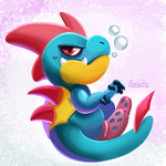 159 - Croconaw by TsaoShin