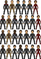 Star Trek Deep Space Nine by SpiderTrekfan616