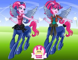 Monster High Pyxis Prepstockings Dress Up by heglys