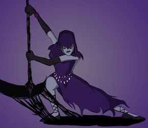 Reaper Violet by SpiderPope
