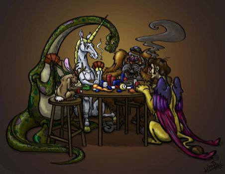 Mythical Poker by paulcarlisle