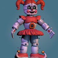 Circus Baby V8  WIP  (4K) by GamesProduction