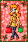 Christmas Shopping by ninpeachlover