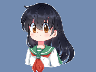 [Fanart] Kagome by CheeryMoon2017