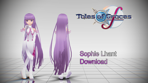 MMD older Sophie(ToGF)Model Download by TwoSidedMMD