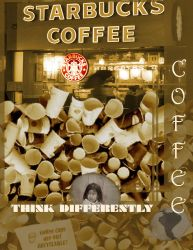 Anti Coffee Ad (schoolwork) by Yuanamo