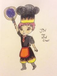 Jin, The Kind Chef by Aperture-Cat