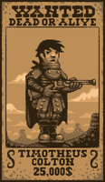 Timotheus Colton Pixel art by SaintBonkers