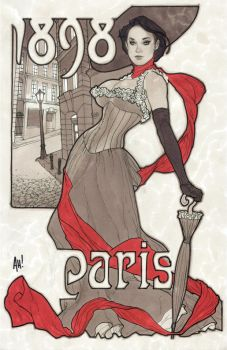 Paris, 1898 by AdamHughes