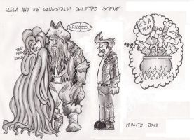 Leela and the Genestalk: Deleted Scene by Inquisitor-Hein