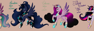 MLP Sombra X Princesses Adopts [CLOSED] by Asembr-A