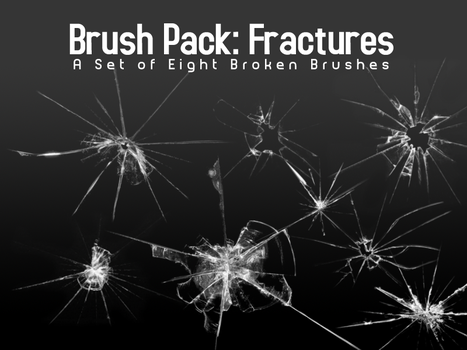 Broken Glass Brushes - Eight by PerpetualStudios