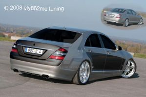 Tuning Mercedes Benz S-Class by ely862me