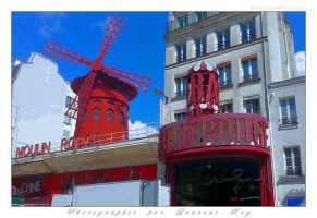 Le Moulin Rouge by laurentroy