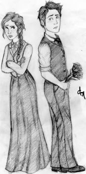 Anne and Gilbert by ThatRockingFangirl