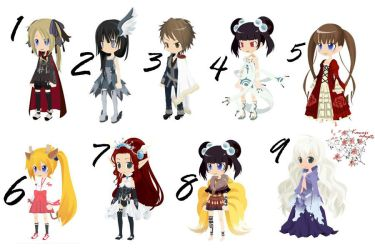 Kawaii Adopts [DreamSelfy] Adopt No.1 by SushiMonster500