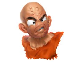 DragonballZ - Krillin by belgoran