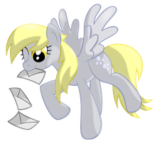 Just Being Derpy by Frezien