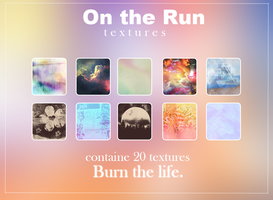 On The Run (textures)  - Burn The Life by Burn-the-life