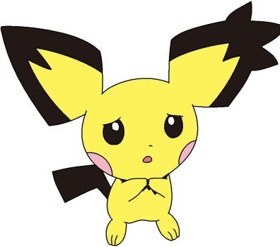 Concerned Pichu by DigitClamFan
